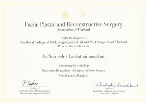 Facial Plastic Surgery Rhinoplasty